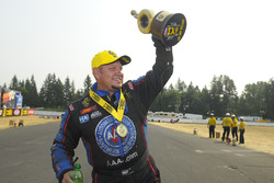 Funny Car winner Robert Hight