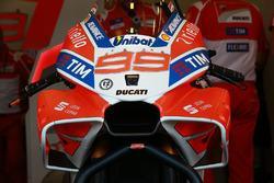 Detalle del nuevo carenado de Jorge Lorenzo, Ducati Team