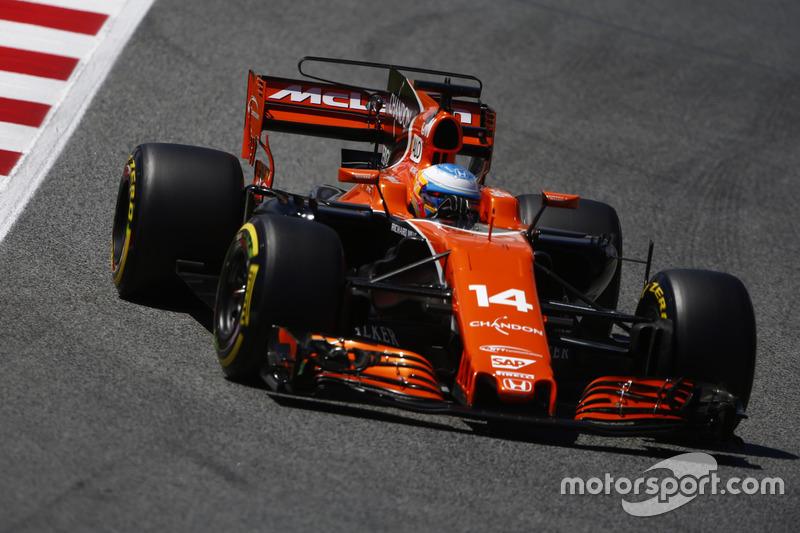 7: Фернандо Алонсо, McLaren MCL32