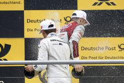 Podium: Marco Wittmann, BMW Team RMG, BMW M4 DTM and Jamie Green, Audi Sport Team Rosberg, Audi RS 5 DTM