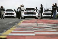 Mattias Ekström, EKS, Audi S1 EKS RX Quattro; Toomas Heikkinen, EKS, Audi S1 EKS RX Quattro; Reinis Nitiss, EKS, Audi S1 EKS RX Quattro
