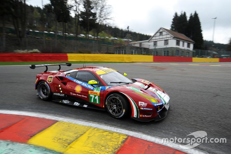 1. GTE-Pro: #71 AF Corse, Ferrari 488 GTE
