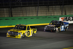 Cody Coughlin, ThorSport Racing Toyota and Parker Kligerman, Henderson Motorsports Toyota