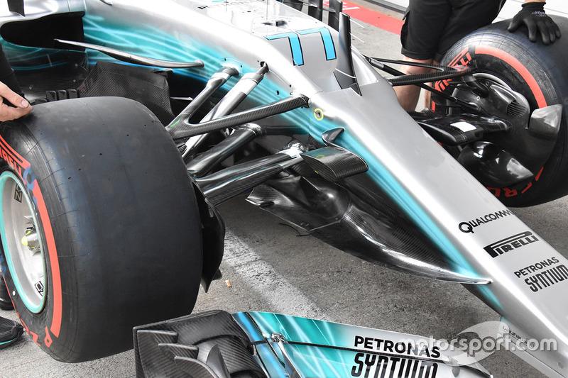 Avant de la Mercedes W08