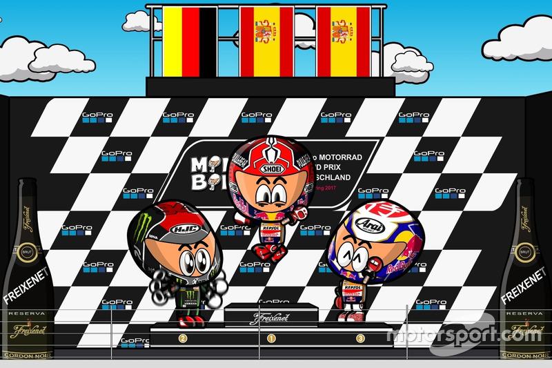 El GP de Alemania 2017 de MotoGP según MiniBikers
