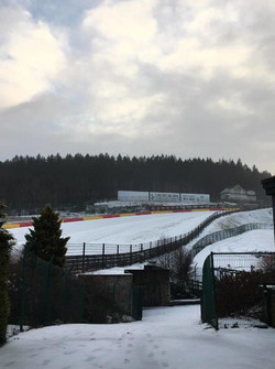 Spa-Francorchamps im Schnee
