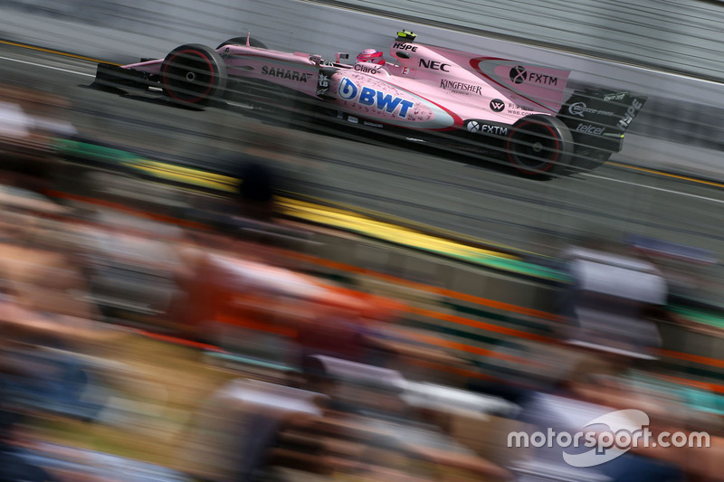 13. Esteban Ocon, Force India F1