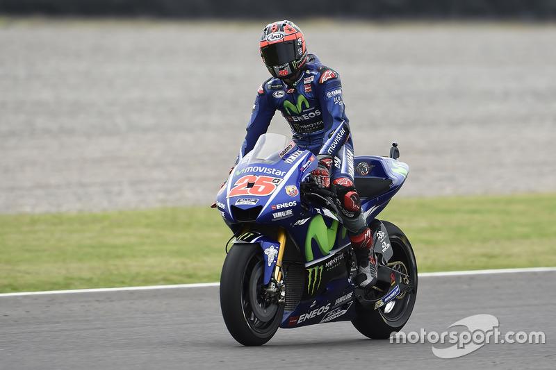 El ganador Maverick Viñales, Yamaha Factory Racing