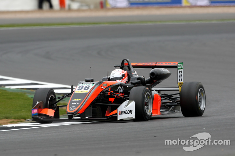 Joey Mawson, Van Amersfoort Racing, Dallara F317 - Mercedes-Benz