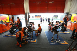 Red Bull KTM Factory Racing garage