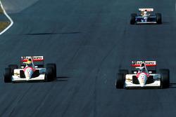 Ayrton Senna, McLaren Honda, Gerhard Berger, McLaren Honda