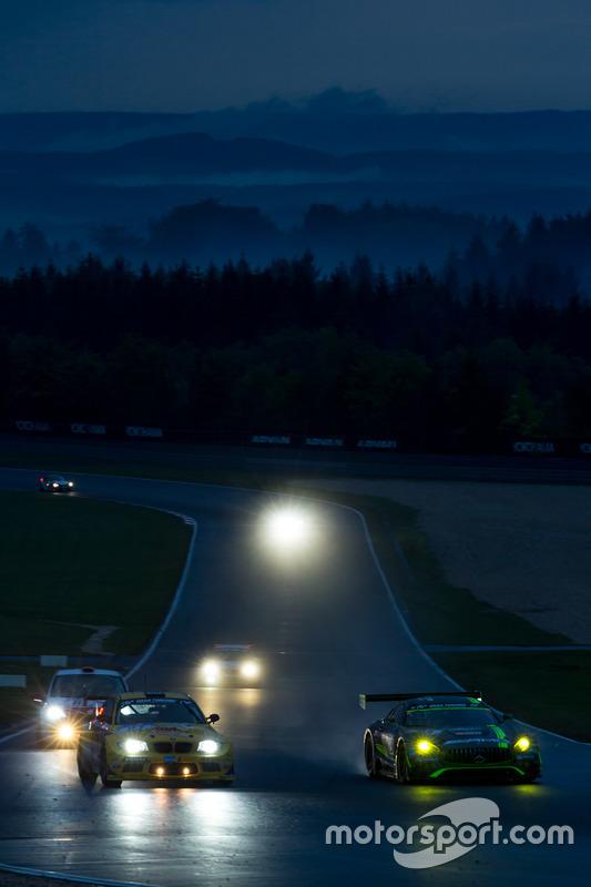 #29 AMG-Team HTP Motorsport, Mercedes-AMG GT3: Christian Vietoris, Marco Seefried, Christian Hohenad