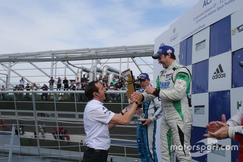 Gara 2 Trofeo Michelin: festa del podio