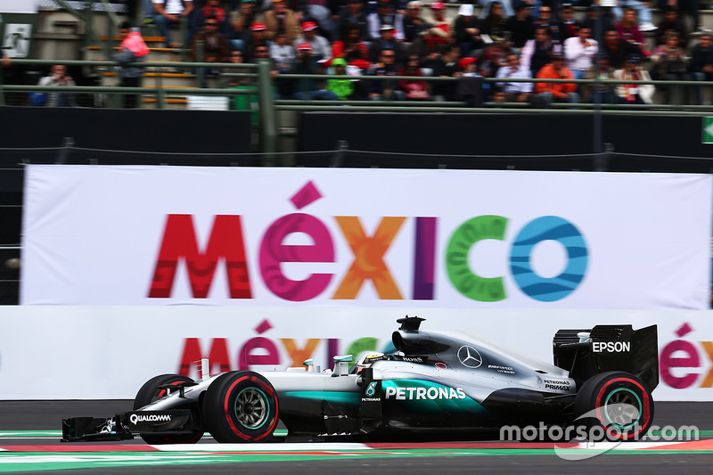 Mexiko, Mexico City: Lewis Hamilton (Mercedes)