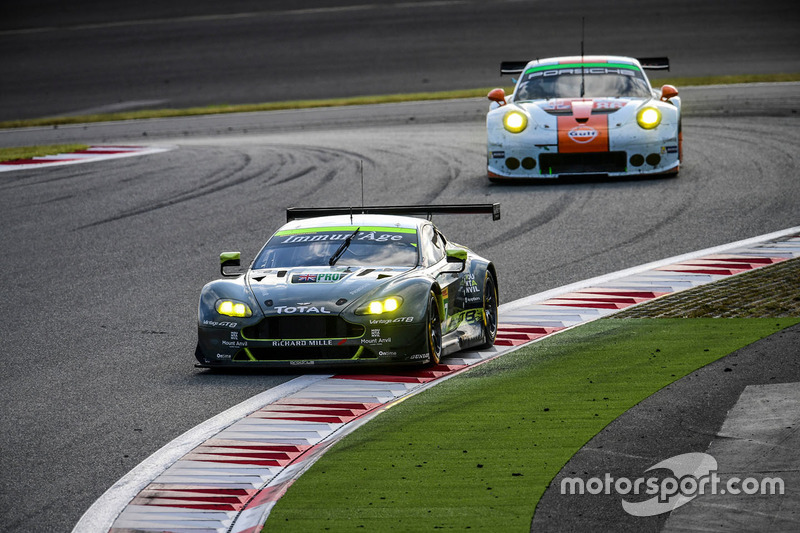 #97 Aston Martin Racing Aston Martin Vantage GTE: Darren Turner, Richie Stanaway