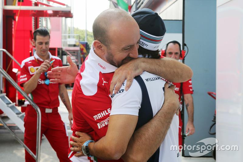 Felipe Massa, Williams with Ferrari