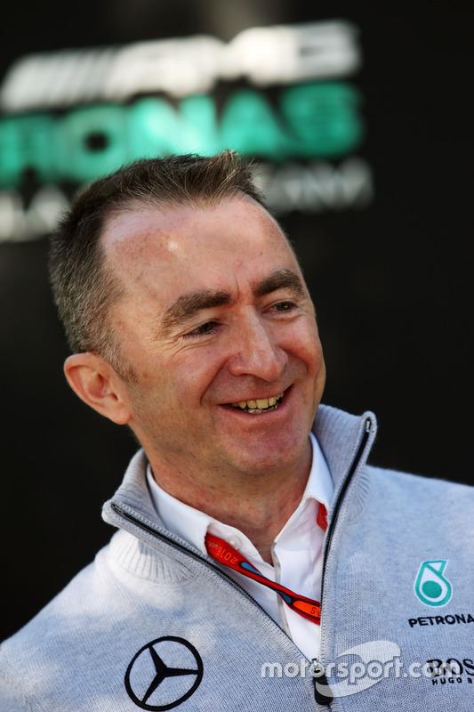 Paddy Lowe, Mercedes AMG F1 technisch directeur