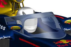 Protezione abitacolo, interpretazione Red Bull