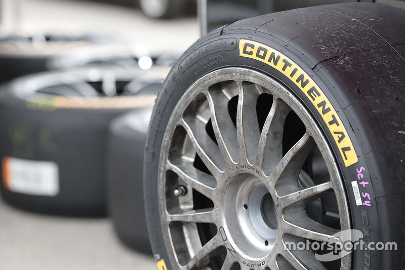 Continental tire detail