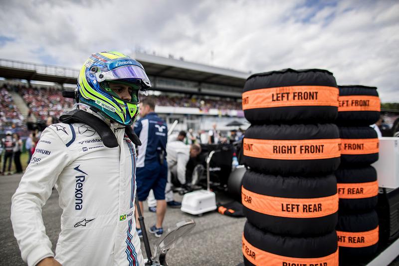 Felipe Massa, Williams op de startopstelling