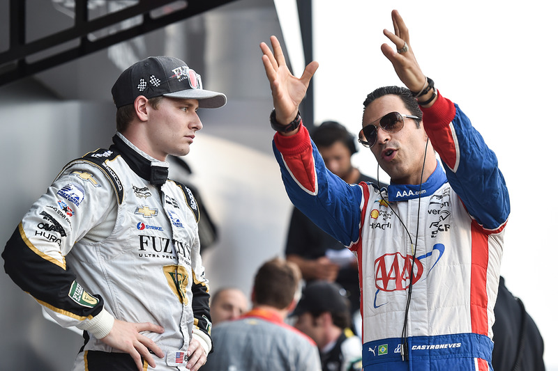 Джозеф Ньюгарден, Ed Carpenter Racing Chevrolet, Еліо Кастроневес, Team Penske Chevrolet
