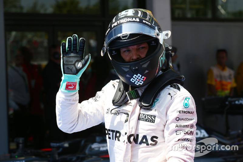 Segundo puesto clasificatorio de Nico Rosberg, Mercedes AMG Petronas F1 W07