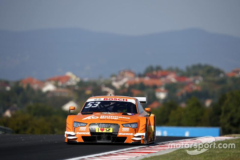 Ausgefallen: Jamie Green, Audi Sport Team Rosberg, Audi RS 5 DTM