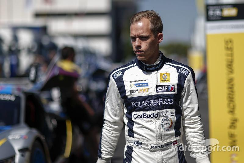 #11 High Class Racing Renault RS01: Anders Fjordbach