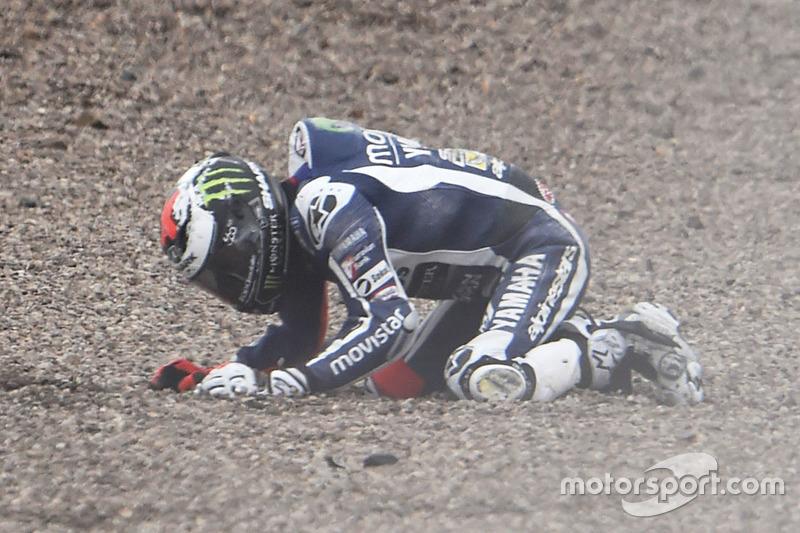 Аварія Хорхе Лоренсо, Yamaha Factory Racing