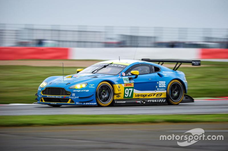 #97 Aston Martin Racing Aston Martin V8 Vantage GTE: Richie Stanaway, Jonny  Adam
