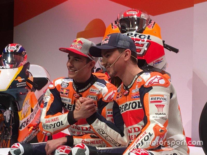 Marc Márquez, Jorge Lorenzo, Honda HRC