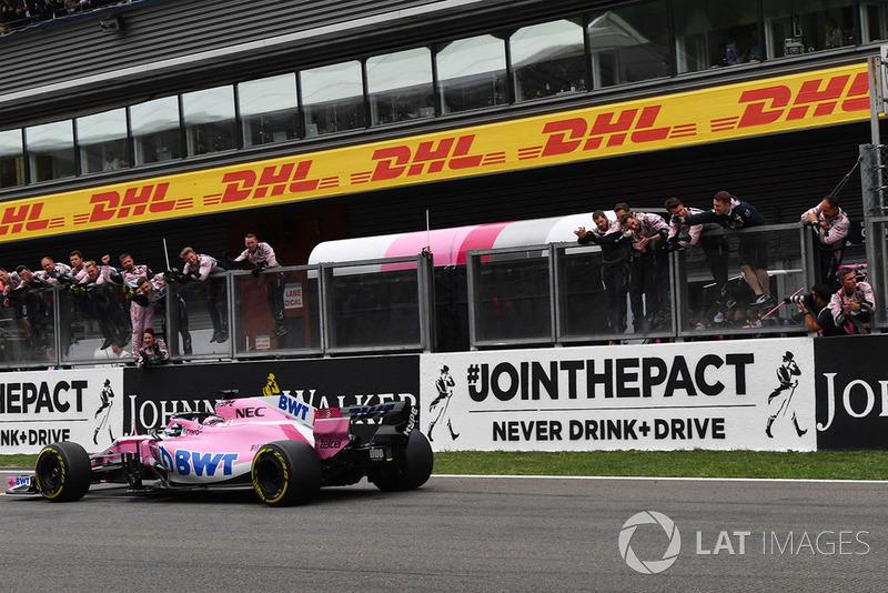6 місце — Серхіо Перес, Force India