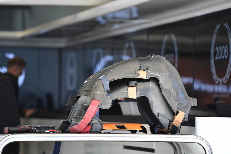 Des sièges de McLaren MCL33