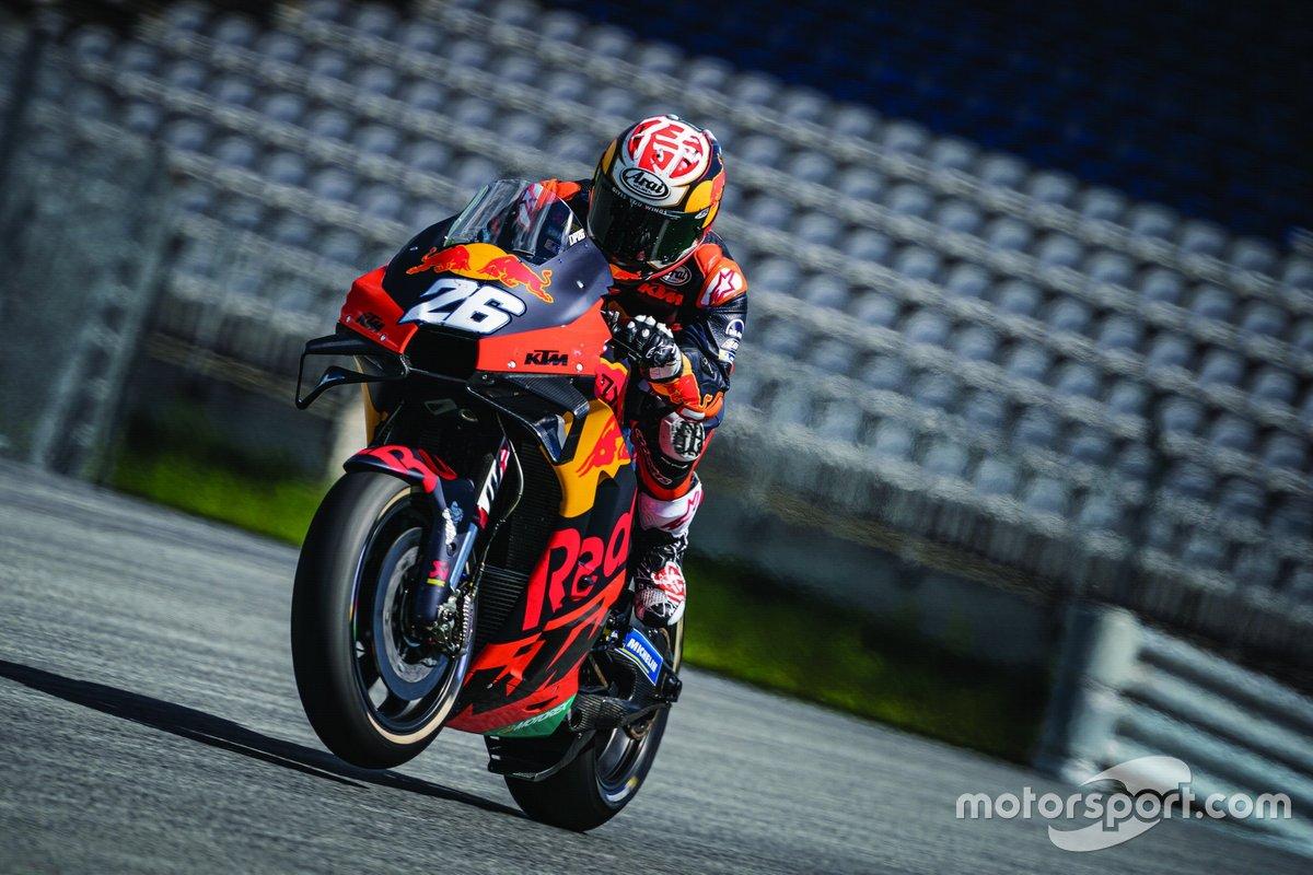 KTM Red Bull Ring May testing