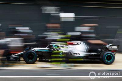 Mercedes F1 Team Juni test