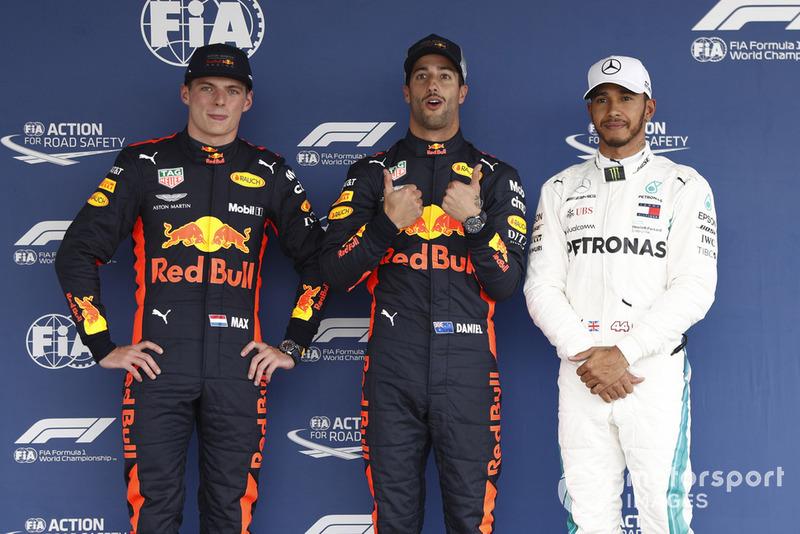 Гран Прі Мексики: Даніель Ріккардо — Макс Ферстаппен — 0,026 секунди