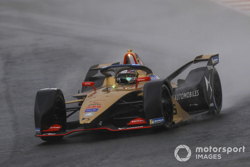 Jean-Eric Vergne, DS TECHEETAH, DS E-Tense FE19 with the new hyper boost LED lights on the halo