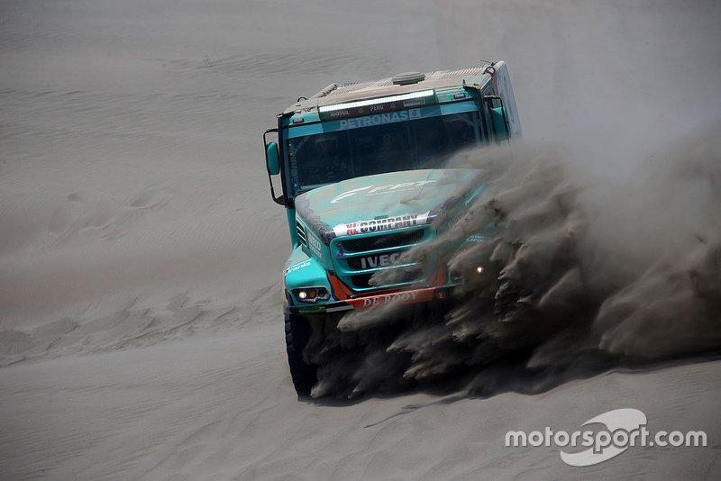 #513 Team De Rooy Iveco: Маурік ван ден Гьовель, Мартейн ван Рой, Петер Кьойперс