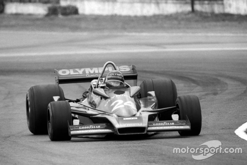 Divina Galica (GBR) Hesketh 308E, GP de Argentina 1978