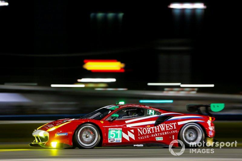 30. GTD: Пол Далла-Лана, Педро Лами, Матиас Лауда, Даниэль Серра, Spirit of Race, Ferrari 488 GT3 (№51) Даниэль Серра, Spirit of Race