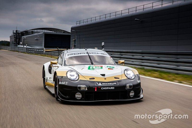 Porsche livery unveil