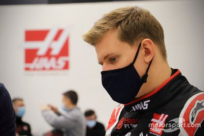 Haas F1 Team seat fitting