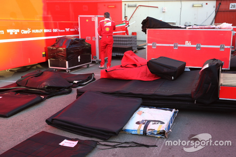 Team are packing up for Australia