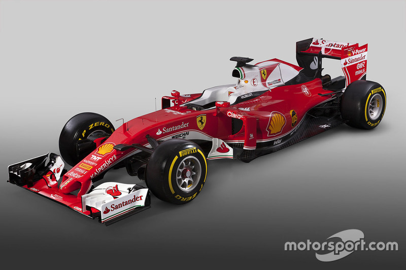 The Ferrari SF16-H