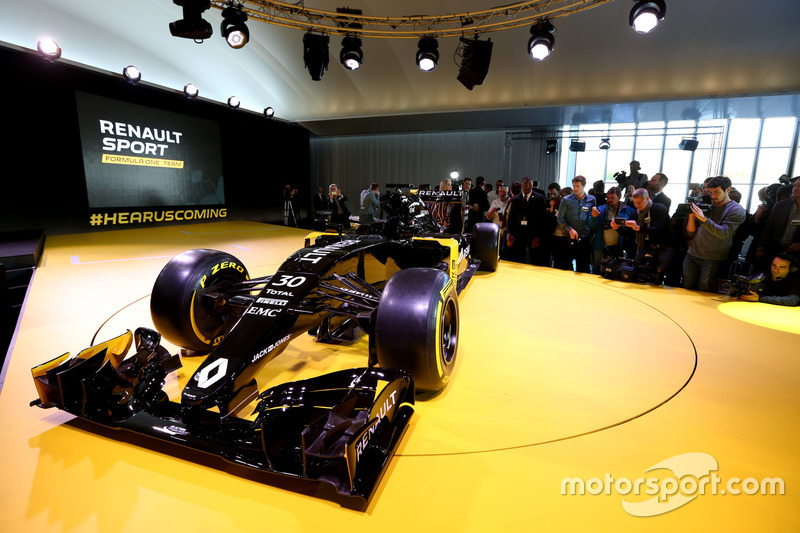 The Renault F1 Team car livery