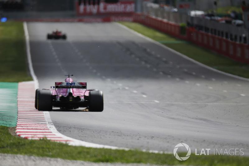 Sergio Perez, negende plaats