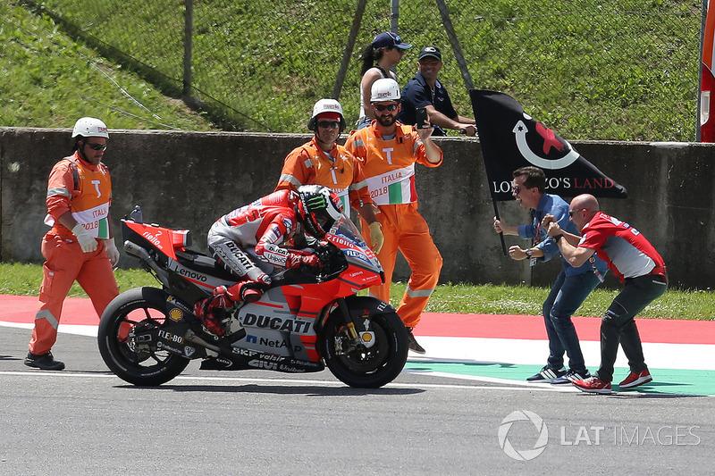 GP de Italia: Jorge Lorenzo, Ducati Team