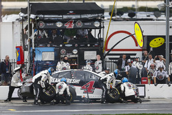 Kevin Harvick, Stewart-Haas Racing, Jimmy John's Ford Fusion pit stop