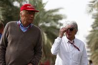 Niki Lauda, Mercedes AMG F1 Fahri Direktörü  ve Bernie Ecclestone