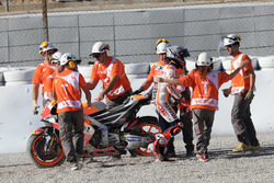 Marc Marquez, Repsol Honda Team after the crash